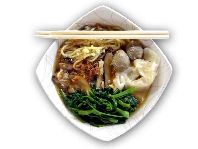 Lomie Ayam Kangkung HANS