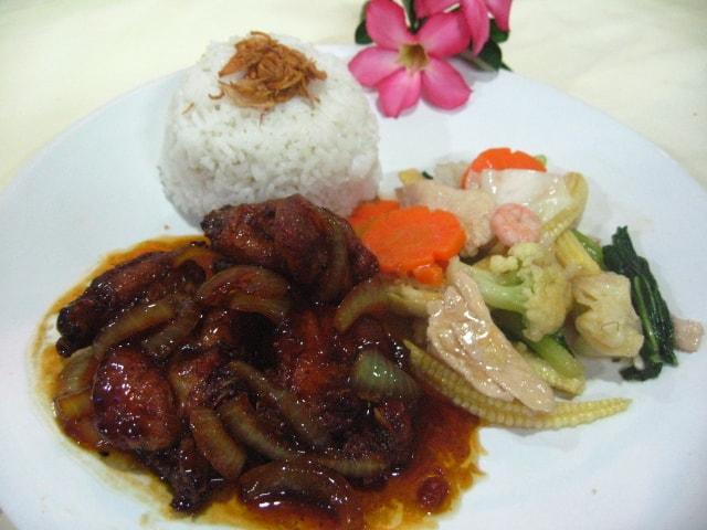 Nasi Ayam Mentega HANS