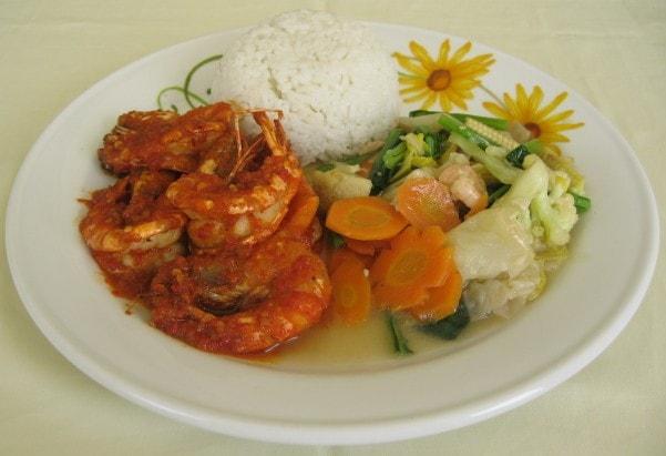 Nasi Udang Rica Rica HANS